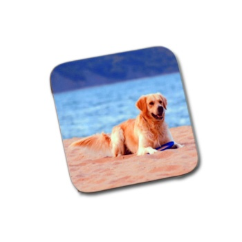 Create something individual with our personalised photo coasters. Available in square or round, our personalised coasters can be customised with your photos and messages and are an ideal accompaniment to our photo mugs and placemats.     Each personalised coaster measures 9cm in width and is made with a hardboard backing and glossy durable finish that protects your photos.