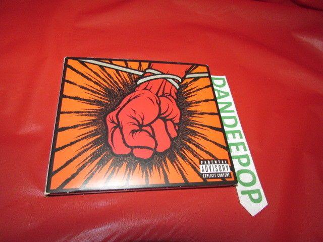 Metallica St. Anger 2 Disc PA Original Music CD  #HardRock #Metallica #StAnger Find me at dandeepop.com