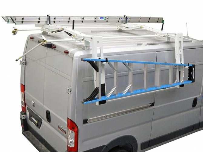 Kargo Master Drop Down Van Ladder Rack Ladder Racks For Vans