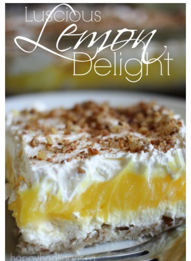 Luscious Lemon Delight.If you find it useful then please like and share. Follow me for more tips. Thank you.