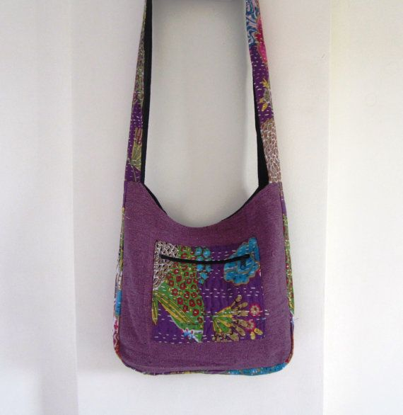 Fruit print cross body sling bag with colorful by elephantsofindia
