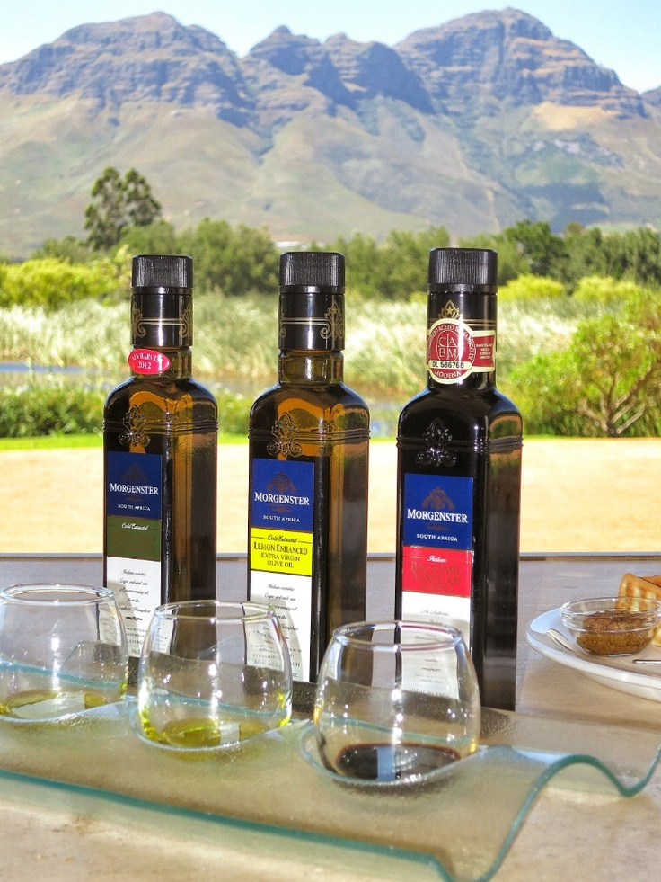 Morgenster estate produces arguably the best olive oil in the Southern Hemisphere!