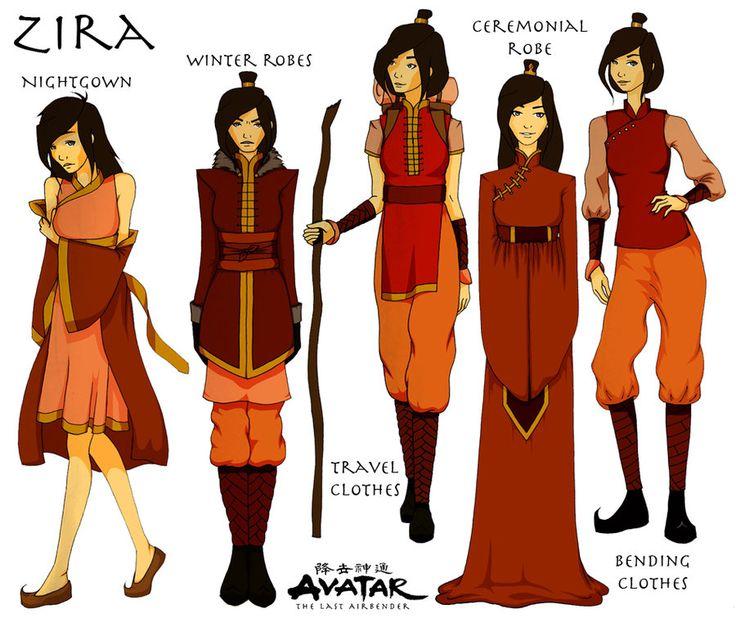 OC - Zira character sheet by honeymunchkin.deviantart.com on @deviantART