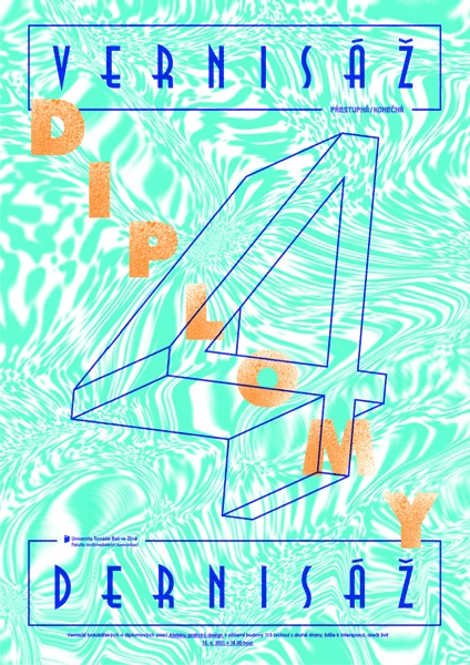 diploma exhibition poster