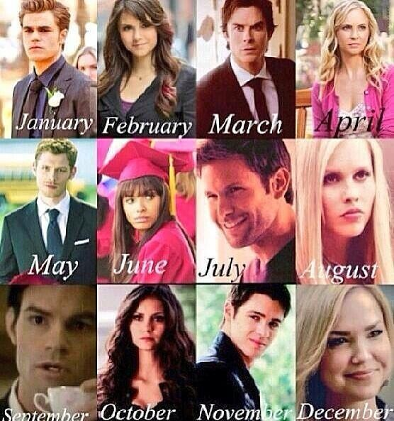 Who you are stuck with for the rest of your life. Comment who. I have Klaus