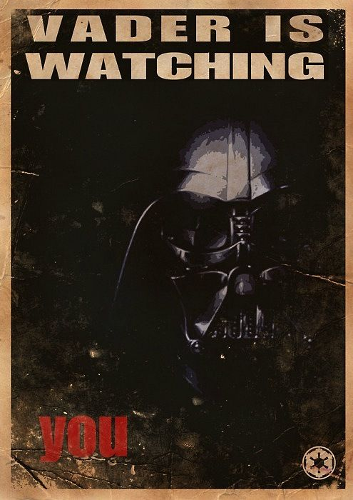 Vader is watching you