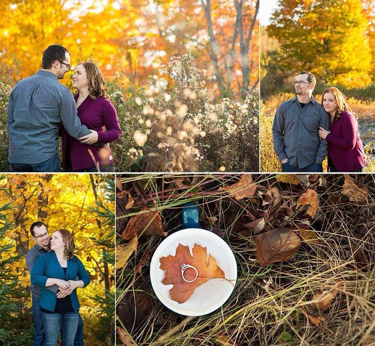 Alicia and Jared, fall country engagement session by Genevieve Flynn Photography // Norton, New Brunswick Canada // www.genevieveflynnphotography.com