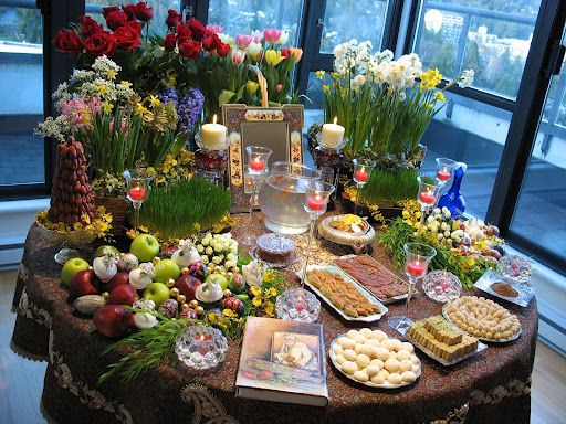 "Persian new year "" Haft Sin"""