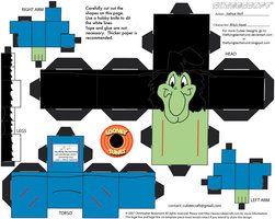 Dachshund Template | Boo Mario papercraft template by ~Lyrin-83 on deviantART