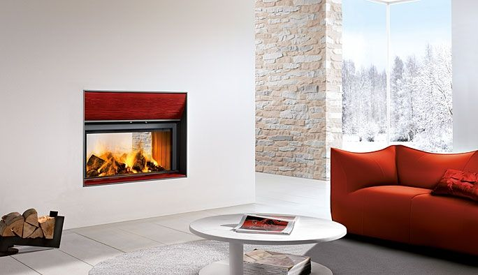 Piazzetta Fireplaces | Piazzetta Colonia Fireplace suitable for Wood or Gas