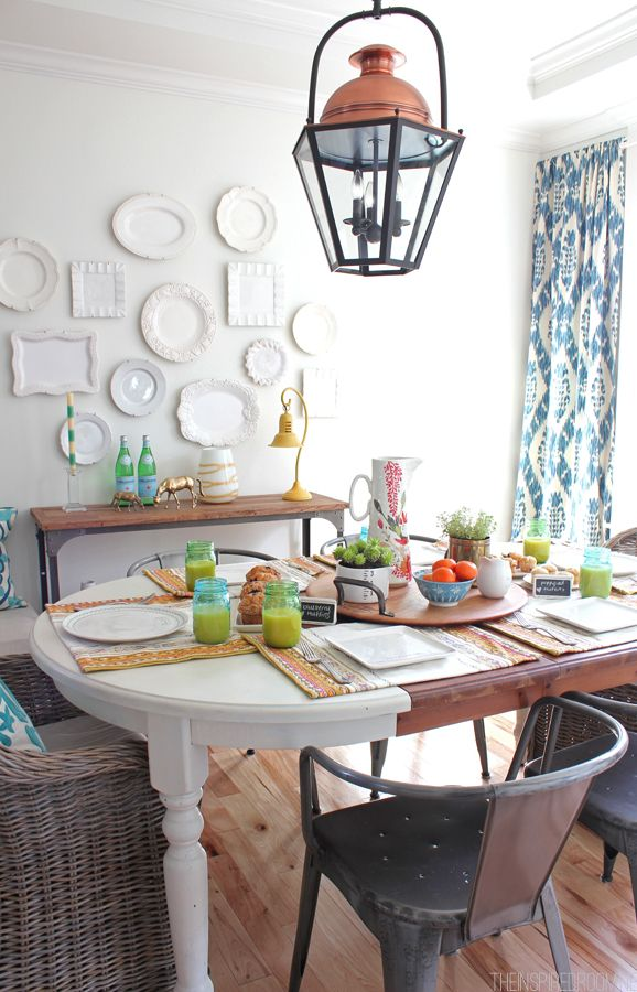 Our Spring Dining Room: 17+ Best Images About Dining Rooms On Pinterest