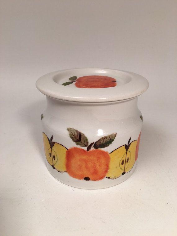Jar pot Arabia Finland by ENretro on Etsy