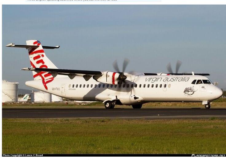 VH-FVX Virgin Australia Regional ATR 72-500