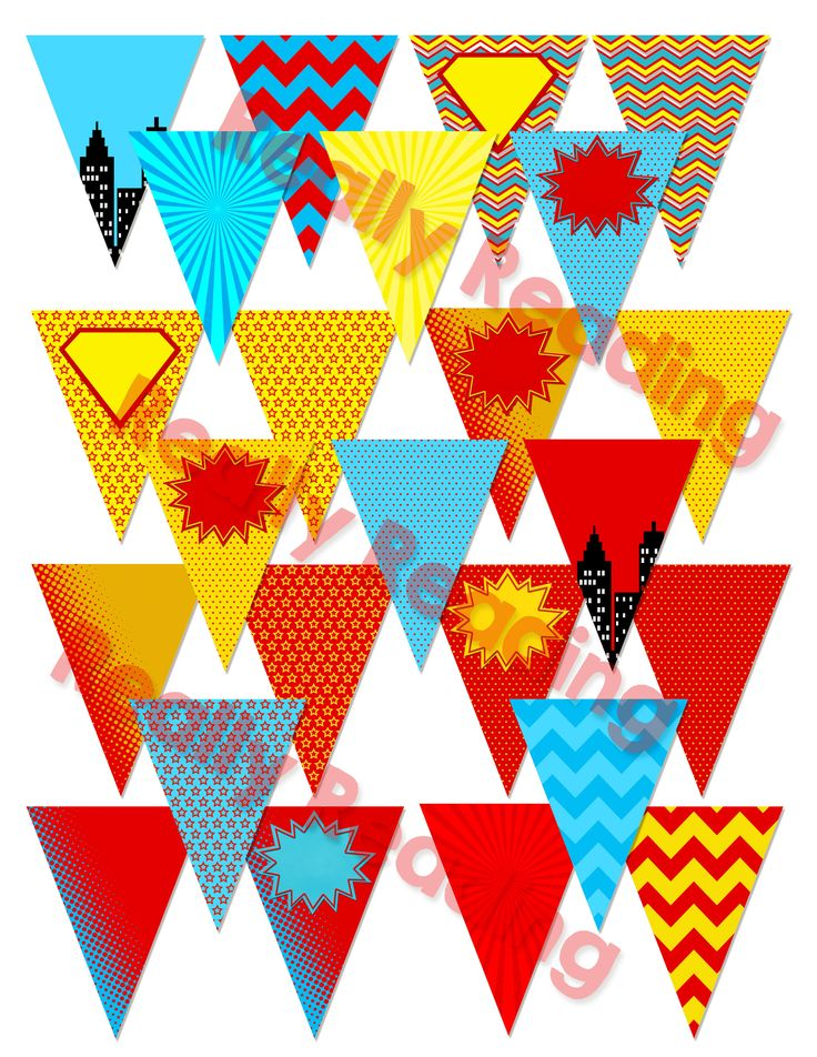 I love the trend of pennants for classroom decor. Pennants are fun