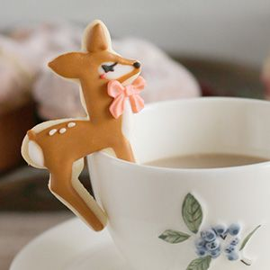 hanging bambi cookie