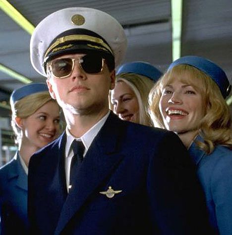Frank Abagnale Jr., Catch Me If You Can (Oh wait...he's real!)