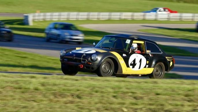 "Daniel's 1970 MG MGB GT Racecar ""Killer Bee"" - AutoShrine Registry"