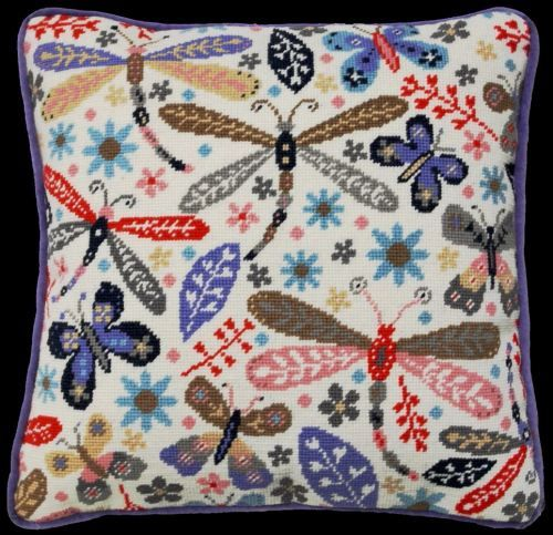 Modern Dragonfly Tapestry kit by Bothy Threads