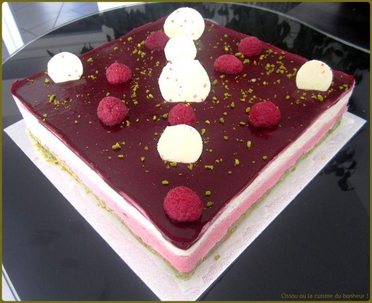 gateau chocolat blanc framboise companion – les meilleures