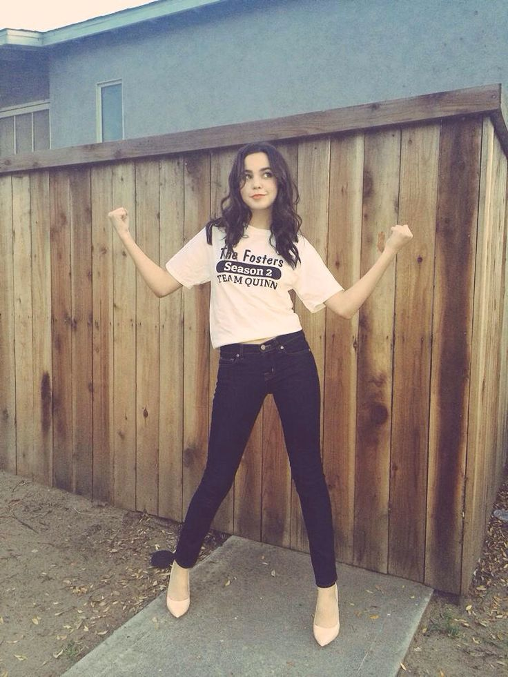 Bailee Madison. Love her! She's a Christian actress and activist and isn't ashamed to stand up for what she believes in; a rare thing in this world.