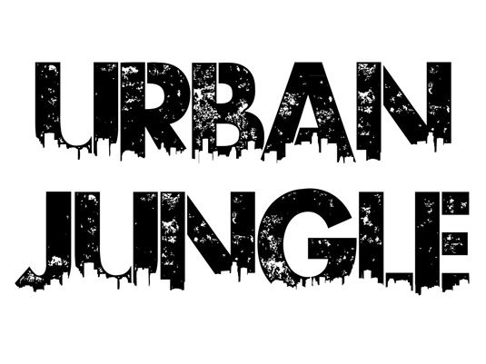 Graffiti font Urban Jungle