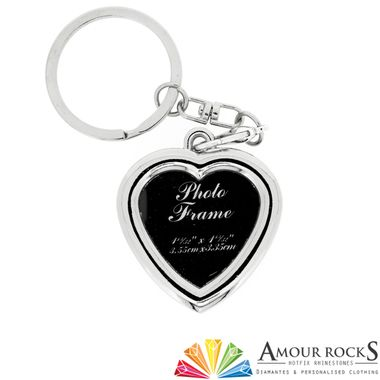 add a photo of a loved one to this this key chain