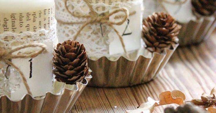 Anche la Corona dell'Avvento è diventato un simbolo irrinunciabile del Natale. Può succedere che in casa ne abbiamosolo alcune di misura...