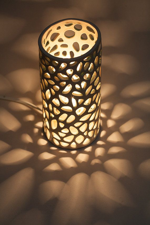 This Mood Ceramic Lamp Is Inspired By The Shapes Of The Corals In The Diverse