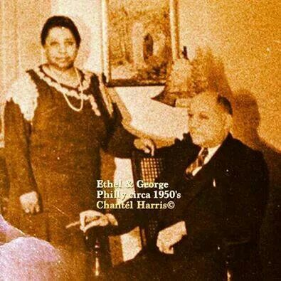 Ethel Hedgeman Lyle and husband George Lyle. The Founders of Alpha Phi Alpha Fraternity and Alpha Kappa Alpha Sorority.