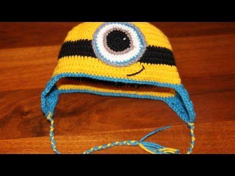 Crea un Originale Cappello da Minion all'Uncinetto - Fai da Te Style - Guidecentral - YouTube
