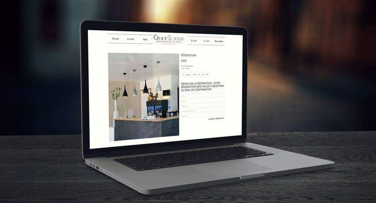Site internet du restaurant Cépage Gourmand – Tournefeuille Toulouse   Agence Agiteo Toulouse