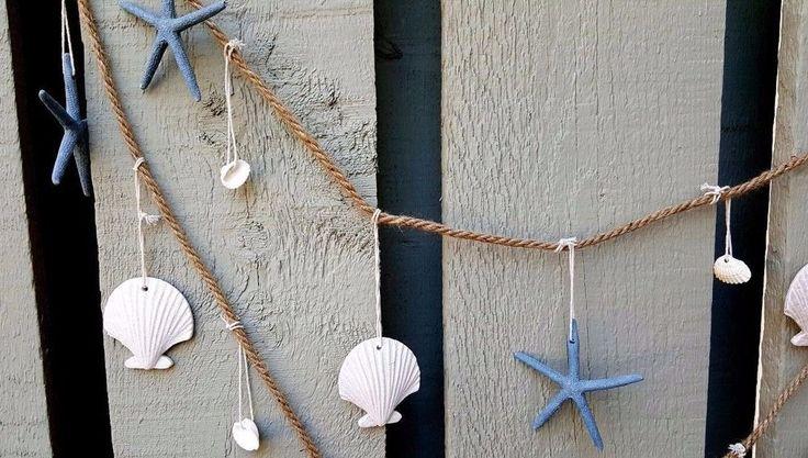 15 Must-see Seashell Garland Pins
