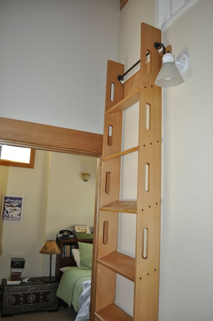 Custom Made Attic Access Ladder Kids Room Pinterest
