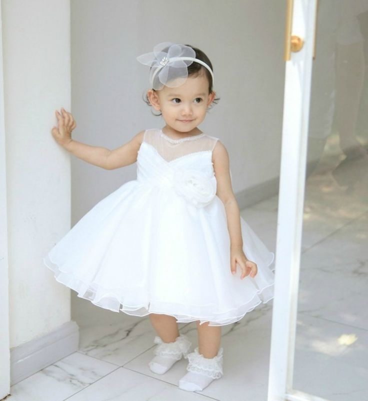 Sweetheart Neckline Dress--Made To Order - High Quality Beautiful & Elegant Crystal Beads Applique Round Neckline Sheer Sleeveless Knee Length Big Bow Back Baby & Big Girl Party Dress. Perfect for Birthday, Wedding, Christening, Baptism, Communion, Summer Party Dress Or Baby Shower Gift. Available from Newborn - 15 Years. Color: White. Material: Soft polyester fiber, purified cotton lining, tulle mesh, beads. Please do compare your little girl's measurements with our size chart or you may…