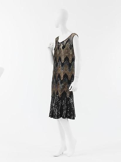 Платье 1926 - 1927 годов. Франция. Chanel