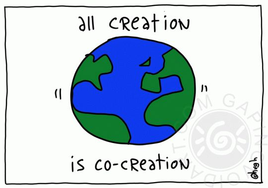 all creations is Co-Creation.