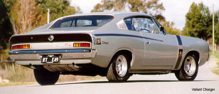 That's the one! 1972 Chrysler VH Valiant Charger R/T E49 - The quickest stock 6 cyl rocket on the planet at that time.