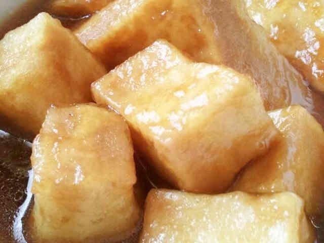新食感☆高野豆腐のオランダ煮の画像