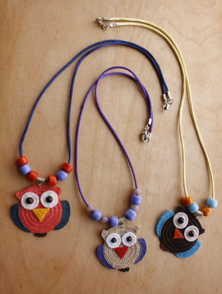 Owl Necklaces Owl (Available in different colors) ON01