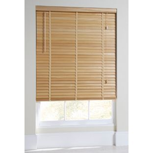 Buy Heart of House Elliott Wooden Tape Blind 120x160cm-Natural at Argos.co.uk - Your Online Shop for Blinds.