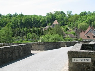 Moutier d'Ahun which is a stunningly beautiful little village on the banks of La Creuse.