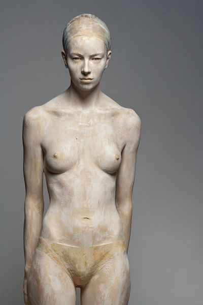Bruno Walpoth - Tania - cm.195: Sculpture, Art Sculpture, Bruno Walpoth, Wooden Sculpture, Wood Sculpture, Human Sculpture, Woods, Artists Bruno, Brunowalpoth