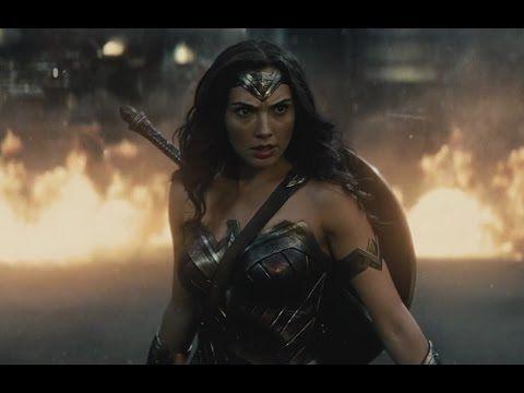 Batman V Superman ''Wonder Woman First Scene & Doomsday Fight'' 1080p - YouTube