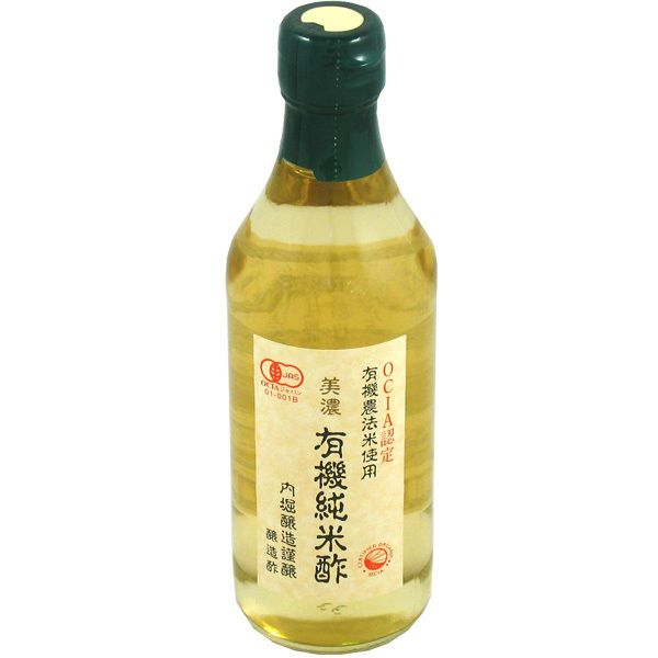 Uchibori Organic Rice Vinegar 360ml