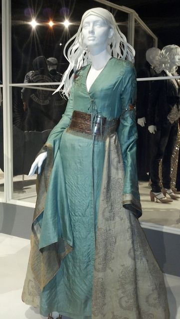 """From """"Game of Thrones"""" worn by Lena Headey as Cersei Lannister design by Michele Clapton"""