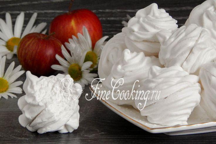 Яблочный зефир по ГОСТу - рецепт с фото