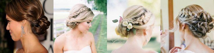 Moños bajos para novias » Mi Boda #peinados #bodas #novias #ideas #inspiración #MiBoda