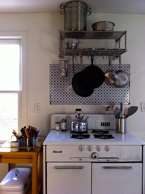 Hanging Pots Love Of Pot And Pan Pinterest Stove Pot Racks And Jesse James