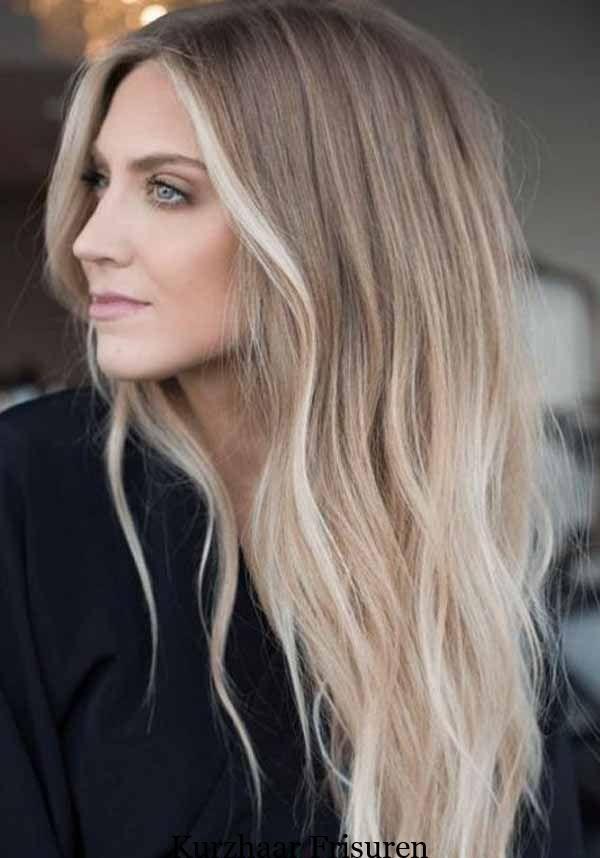 7 Wunderschöne Lange Frisuren Für Dünnes Haar Stilvolle