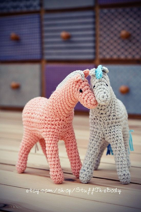 Horse Crochet Pattern by StuffTheBody on Etsy, USD4 # ...
